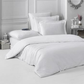 Постельное белье однотонное LOFT Белый 1,5 спальный
