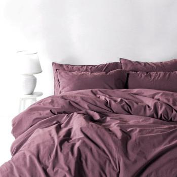 Постельное белье STONEWASH Фиолетовый Евро