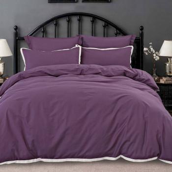 Комплект из макосатина Джоконда Темно-фиолетовый Евро