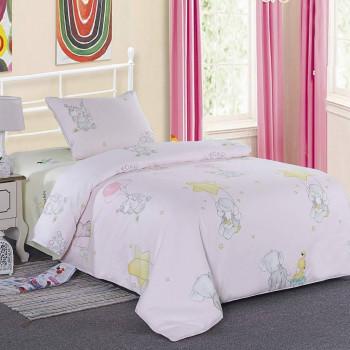 Детский комплект постельного белья Веселый слоник