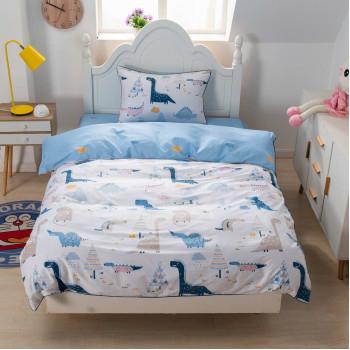 Детский комплект постельного белья Дино