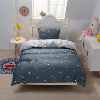 Детский комплект постельного белья Космос