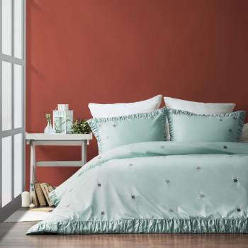 Постельное белье Мира Мятный 1,5 спальный