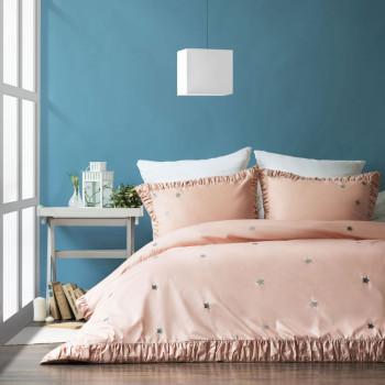 Постельное белье Мира Розовый 1,5 спальный