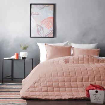Покрывало с наволочками Софт Светло-розовый, 250х270 см