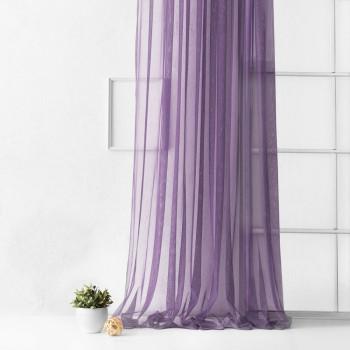 Портьера Грик Фиолетовый, 500х270 см - 1 шт.