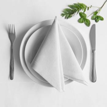 Комплект салфеток Билли Белый, 38х38 см - 4 шт.