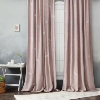 Комплект штор Мика Розовый, 145x270 см - 2 шт.