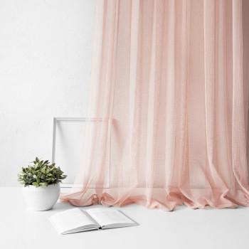 Портьера Вудсток Розовый, 500х270 см - 1 шт.