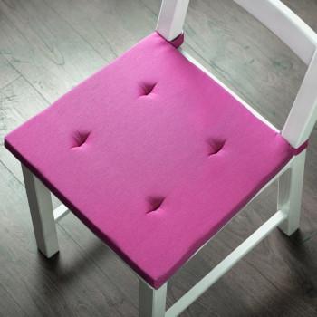 Комплект подушек для стула Билли Фуксия, 37х42х3 см - 2 шт.