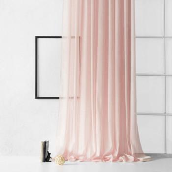 Портьера Лоунли Розовый, 300х270 см - 1 шт.