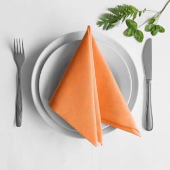 Комплект салфеток Билли Оранжевый, 38х38 см - 4 шт.