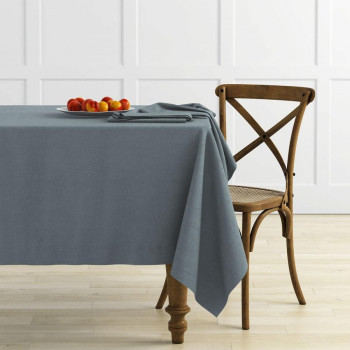 Комплект скатертей Ибица Серый, диаметр 145 см - 2 шт.