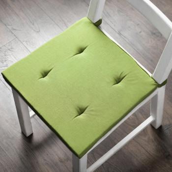 Комплект подушек для стула Билли Травяной, 37х42х3 см - 2 шт.