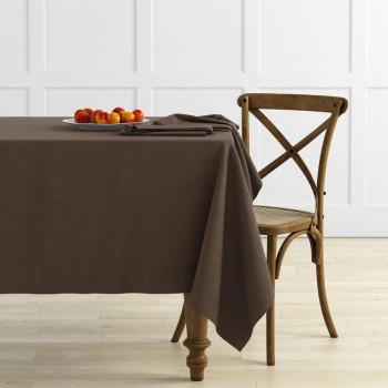 Комплект скатертей Ибица Шоколадный, диаметр 145 см - 2 шт.