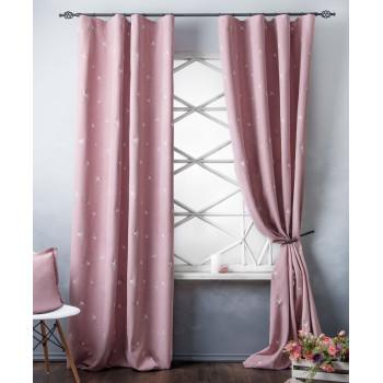 Комплект штор Прайм Розовый, 145х280 см - 2 шт.