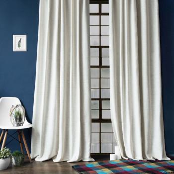 Комплект штор с подхватами Моррис Белый, 140х270 см - 2 шт.