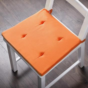 Комплект подушек для стула Билли Оранжевый, 37х42х3 см - 2 шт.