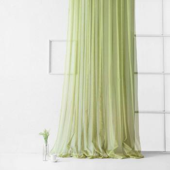 Портьера Стори Зеленый, 500х270 см - 1 шт.