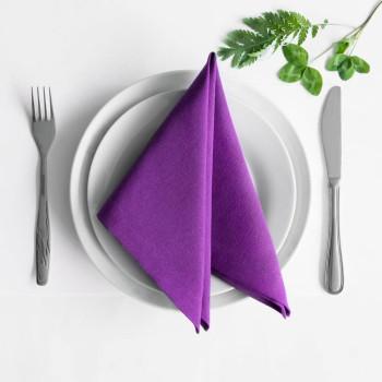 Комплект салфеток Билли Фиолетовый, 38х38 см - 4 шт.