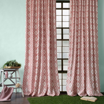 Комплект штор Алан Розовый, 170x270 см - 2 шт.