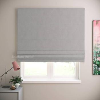 Римская штора Ибица Бежево-серый 120x170 см
