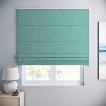 Римская штора Софт Небесно-Голубой 120x170 см