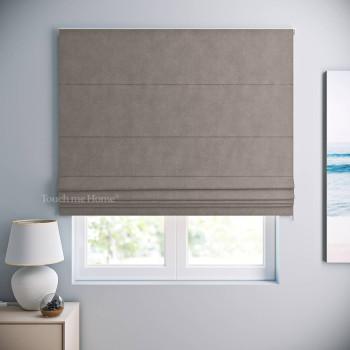Римская штора Софт Светло-серый 120x170 см