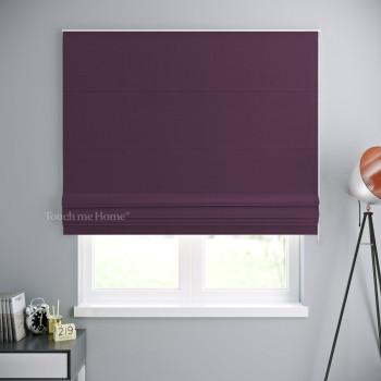 Римская штора Блэкаут Фиолетовый 120x170 см