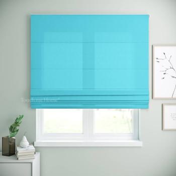 Римская штора Билли Голубой 120x170 см