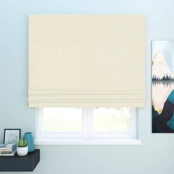 Римская штора Джерри Сливочный 120x170 см