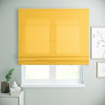 Римская штора Билли Желтый 120x170 см