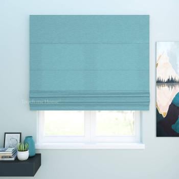 Римская штора Джерри Голубой120x170 см