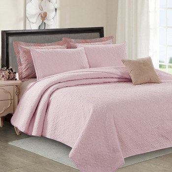 Покрывало с наволочками Manhattan Розовый, 230x250 см