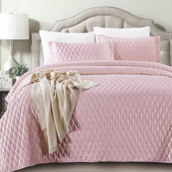 Покрывало с наволочками Arabesque Розовый, 240x260 см