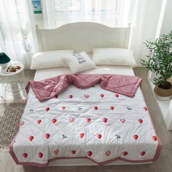 Одеяло облегченное Siesta Клубника 150x200