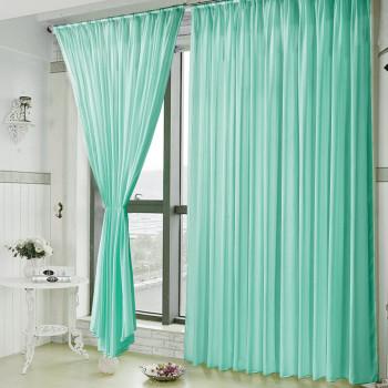 Тюль вуаль Shade Морской зеленый, 500x290 см
